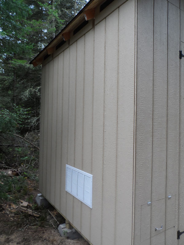 A question about exhausting my generator - Small Cabin Forum (2)